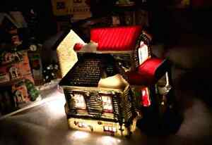 Christmas village house for sale. Beautiful red roof when lit. Kitchener / Waterloo Kitchener Area image 2