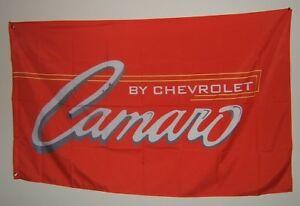 NEW Outdoor/indoor Camaro Flag / sign 3ft X 5ft