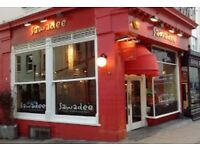 Part-time Kitchen porter for Thai Restaurant in Brighton - immediate start