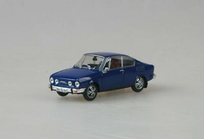Skoda Rapid 136 Coupe 1987 Dark Grey Blue ABREX 1:43 143ABS720LR Model