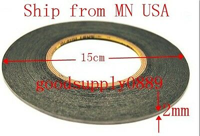USA -3M Sticker Tape Sticker Double Side Adhesive Cellphone Touch Screen LCD 2MM
