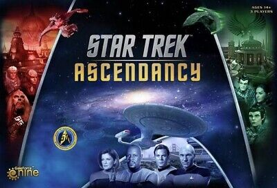 Star Trek Ascendancy Board Game.