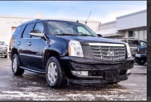 2009 Cadillac Escalade 180k mint condition black on black