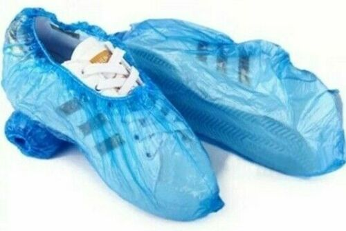 100 Disposable Shoe Covers Waterproof Overshoes Protector Zapatos Desechables