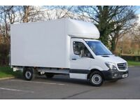 2 Man with Big Van Hire from £15ph FULL HOUSE REMOVALS CALL NOW RELIABLE SERVICES