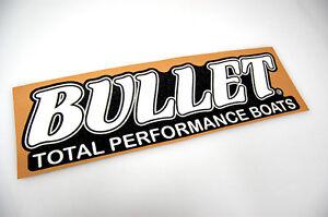 Bullet Boat Decals Custom Vinyl Decals - Decals for boat carpet