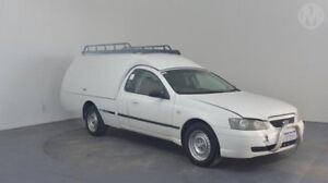 2005 Ford Falcon BA Mk II XL Super Cab White 4 Speed Sports Automatic Cab Chassis Perth Airport Belmont Area Preview