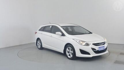 2012 Hyundai i40 VF Active Tourer Creamy White 6 Speed Sports Automatic Wagon Perth Airport Belmont Area Preview