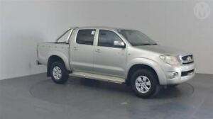 2010 Toyota Hilux GGN25R MY10 SR5 Silver Leaf 5 Speed Automatic Utility Perth Airport Belmont Area Preview