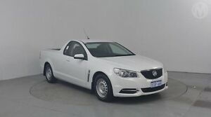 2014 Holden Ute VF MY14 Ute Heron White 6 Speed Sports Automatic Utility Perth Airport Belmont Area Preview