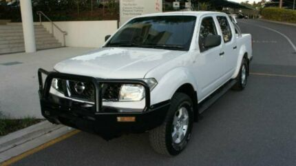 2011 Nissan Navara D40 RX White 5 SPEED Automatic Albion Brisbane North East Preview