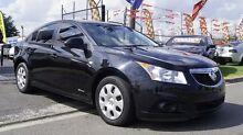 2012 Holden Cruze JH MY12 CD Black 6 Speed Automatic Sedan Brooklyn Brimbank Area Preview