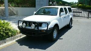 2012 Nissan Navara D40 S7 MY12 RX White Manual Albion Brisbane North East Preview