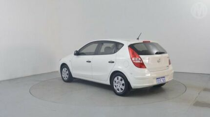 2010 Hyundai i30 FD MY10 SX Ceramic White 4 Speed Automatic Hatchback Perth Airport Belmont Area Preview