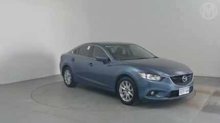 2013 Mazda 6 6C Sport Blue 6 Speed Automatic Sedan Perth Airport Belmont Area Preview