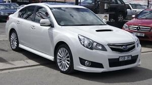 2011 Subaru Liberty MY11 2.5I GT Premium White 5 Speed Automatic Sedan Brooklyn Brimbank Area Preview