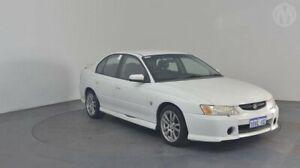 2004 Holden Commodore VY II S Heron White 4 Speed Automatic Sedan