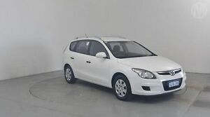 2011 Hyundai i30 FD MY11 CW SX 2.0 Ceramic White 4 Speed Automatic Wagon Perth Airport Belmont Area Preview
