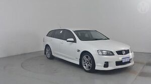 2013 Holden Commodore VE II MY12.5 SV6 Sportwagon Heron White 6 Speed Sports Automatic Wagon Perth Airport Belmont Area Preview