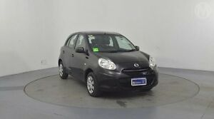 2014 Nissan Micra K13 MY13 ST Purple 4 Speed Automatic Hatchback Liverpool Liverpool Area Preview
