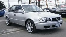 2000 Toyota Corolla AE112R Conquest Seca Silver 4 Speed Automatic Liftback Brooklyn Brimbank Area Preview