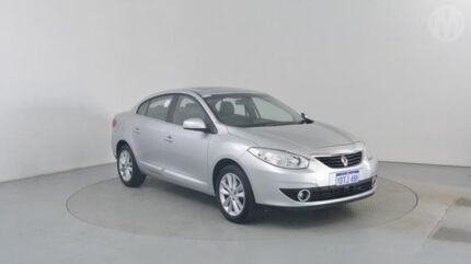 2011 Renault Fluence X38 Privilege Ultra Silver 6 Speed Continuous Variable Sedan Perth Airport Belmont Area Preview