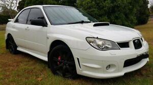 2006 Subaru Impreza MY06 WRX (AWD) White 5 Speed Manual Sedan Parramatta Parramatta Area Preview