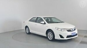 2014 Toyota Camry AVV50R Hybrid H Diamond White 1 Speed Continuous Variable Sedan Perth Airport Belmont Area Preview