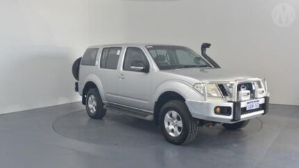 2010 Nissan Pathfinder R51 08 Upgrade ST (4x4) Silver Lightning 5 Speed Automatic Wagon Perth Airport Belmont Area Preview