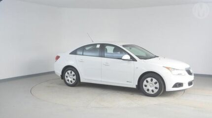 2012 Holden Cruze JH Series II MY12 CD Heron White 6 Speed Sports Automatic Sedan Wingfield Port Adelaide Area Preview
