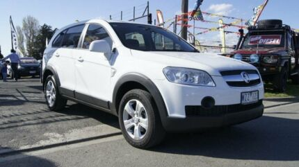 2009 Holden Captiva CG MY09 SX (FWD) White 5 Speed Automatic Wagon Brooklyn Brimbank Area Preview