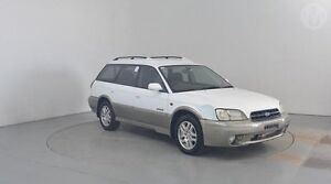 1999 Subaru Outback MY99 AWD White 4 Speed Automatic Wagon Perth Airport Belmont Area Preview