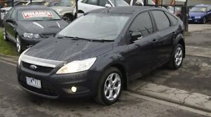 2010 Ford Focus LV MY11 TDCi Black 6 Speed Automatic Hatchback Brooklyn Brimbank Area Preview