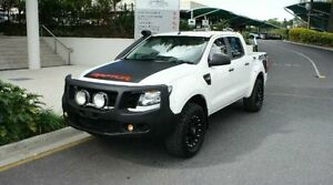2012 Ford Ranger PX XL Double Cab White Albion Brisbane North East Preview