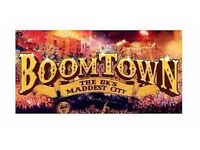 2 x Tickets to Boomtown face value
