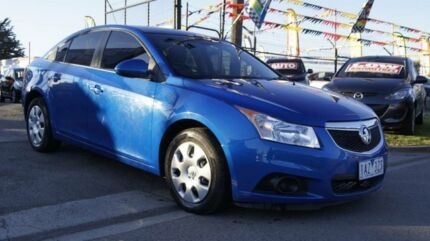 2011 Holden Cruze JH CD Blue 6 Speed Automatic Sedan Brooklyn Brimbank Area Preview