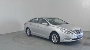 2011 Hyundai i45 YF MY11 Active Sleek Silver 6 Speed Sports Automatic Sedan Perth Airport Belmont Area Preview