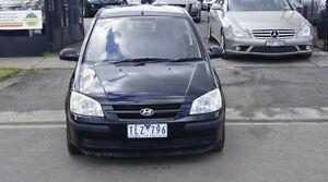 2005 Hyundai Getz TB Upgrade 1.6 Black 4 Speed Automatic Hatchback Brooklyn Brimbank Area Preview