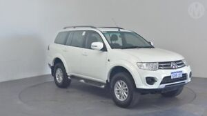 2014 Mitsubishi Challenger PC MY14 LS (5 Seat) (4x4) White 5 Speed Automatic Wagon Perth Airport Belmont Area Preview
