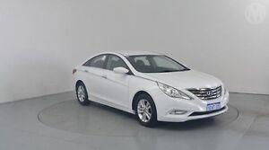 2010 Hyundai i45 YF MY11 Elite Noble White 6 Speed Automatic Sedan Perth Airport Belmont Area Preview