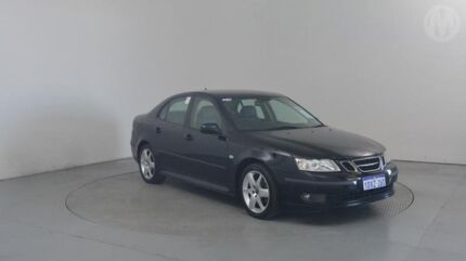 2006 Saab 9-3 440 MY2006 Vector Sport Black 5 Speed Manual Sedan Perth Airport Belmont Area Preview