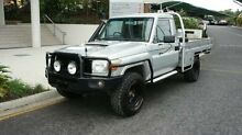 2007 Toyota Landcruiser VDJ79R Workmate Silver 5 SPEED Manual Albion Brisbane North East Preview
