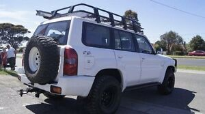 2007 Nissan Patrol GU IV ST (4x4) White 4 Speed Automatic Wagon Brooklyn Brimbank Area Preview