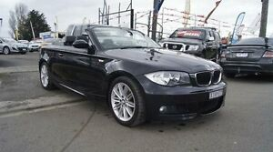 2009 BMW 120I E88 MY09 Black 6 Speed Automatic Convertible Brooklyn Brimbank Area Preview