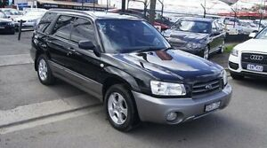 2002 Subaru Forester MY03 XS Black 5 Speed Manual Wagon Brooklyn Brimbank Area Preview
