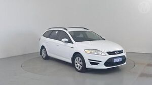 2010 Ford Mondeo MC LX Frozen White 6 Speed Automatic Wagon Perth Airport Belmont Area Preview