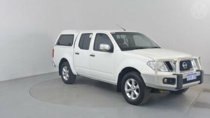 2010 Nissan Navara D40 ST-X (4x4) White 6 Speed Manual Utility Perth Airport Belmont Area Preview