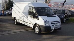 2012 Ford Transit VM MY12 Update Mid (MWB) White 6 Speed Manual Van Brooklyn Brimbank Area Preview