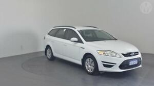 2014 Ford Mondeo MC LX PwrShift TDCi Frozen White 6 Speed Sports Automatic Dual Clutch Wagon Perth Airport Belmont Area Preview