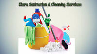 Offering to Kitchener-Waterloo and area JANITORIAL and SANITATIO